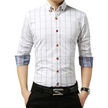 new Mens Formal Casual Slim Fit Shirt size mlxl