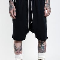 Indie Designs Fear Of God Inspired Cotton Dropcrotch Shorts