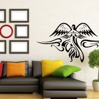 Wall Decals Abstract Bird Flying Decal Vinyl Sticker Home Decor Bedroom Interior Window Decals Living Room Art Murals Chu1405