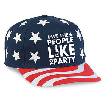 We The People Like To Party July 4th Hats