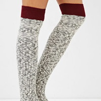 Marled Over-the-Knee Socks