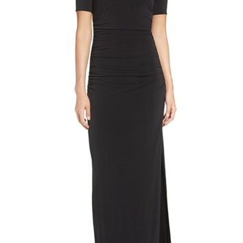 Laundry by Shelli Segal Illusion Gown | Nordstrom