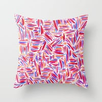 Traffic 2 Throw Pillow by Jacqueline Maldonado