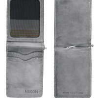 Nixon Dusty Card Wallet - Mens Wallets - Gray - One