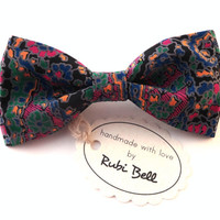 Bow Tie - multicolored bow tie - man bow tie - men bow tie - gifts for him