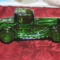 Vintage Sterling Six II Avon Car Bottle, Vintage Decanter Bottle