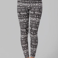 KUNIA TRIBAL PRINTED LEGGINGS
