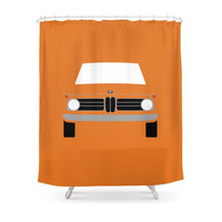 Society6 BMW 2002 Shower Curtains