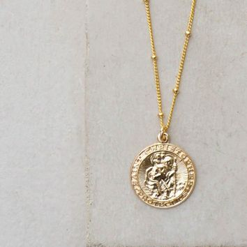 Saint Christopher Coin