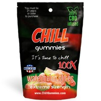 Chill CBD Gummies 100x from Hookah Town. Various Flavors Available.