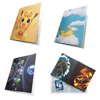 free shipping Pikachu Collection 112 Pokemon cards Album pokemon Novelty gift Book List playing card pokemon cards holder album