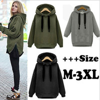 New fashion Hoodies Sweatshirts Outerwear Hooded Ladies fashion Coat [8045195975]