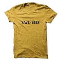 Sun Frog Shirts Women's Save The Bees T-Shirt Large Daisy