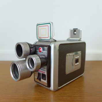 1950s Kodak Brownie Turret 8mm movie camera