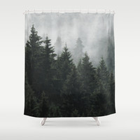 Waiting For Shower Curtain by Tordis Kayma   Society6