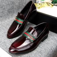 Gucci Man Fashion Casual Shoes Flats Shoes-2