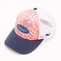 Sealife Batik Trucker Hat