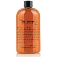 hot buttered rum | shampoo, shower gel and bubble bath | philosophy holiday favorites