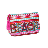 Beach and Beyond Multi Colored Clutch