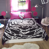 Live Love Dream  LLD Tiger Bed-in-a-Bag Set - Pink