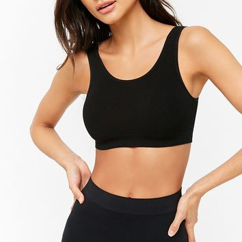 V-Back Seamless Bralette