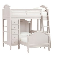 Madeline Bunk System with Twin Bed Set