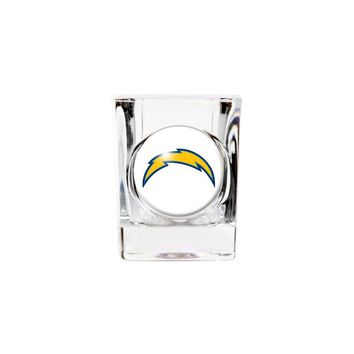 San Diego Chargers 2oz Square Shot Glass - Etching Personalized Gift Item