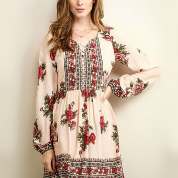 Enchanted Rose Dress