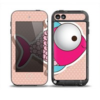 The Colorful Vector Big-Eyed Fish Skin for the iPod Touch 5th Generation frē LifeProof Case