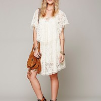 Free People Hill Country Lace Up Dress
