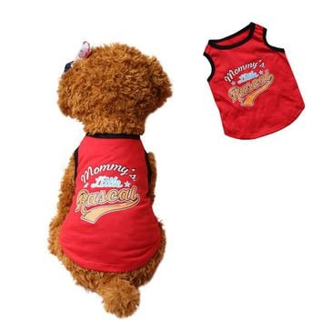 Pet Dog Summer Clothes Dog Clothes For Small Dogs Vest Chihuahua Pet Clothes Pet Products mascotas