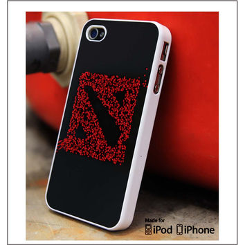 Dota Red Art iPhone 4s iPhone 5 iPhone 5s iPhone 6 case, Galaxy S3 Galaxy S4 Galaxy S5 Note 3 Note 4 case, iPod 4 5 Case