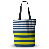 "Trebam ""Nauticki"" Yellow Navy Everything Tote Bag"