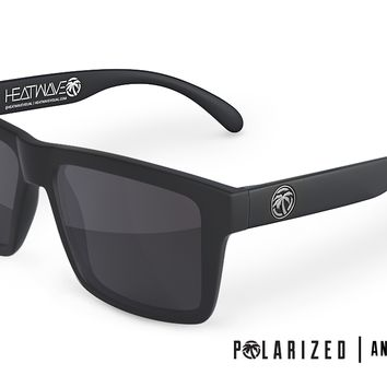 VISE Z87 Sunglasses: Polarized BLACK Lens