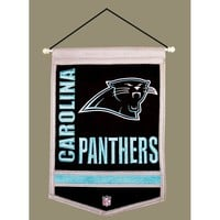 Carolina Panthers NFL Traditions Banner (12x18)