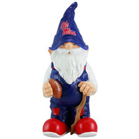 Mississippi Rebels Football Gnome Figurine - http://www.shareasale.com/m-pr.cfm?merchantID=7124&userID=1042934&productID=555871841 / Ole Miss Rebels
