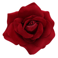 Red Rose Flower Hair Clip | Hot Topic