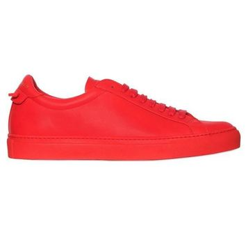 True Red Low-Top Sneakers by Givenchy