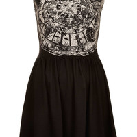 Zodiac Print Skater Dress - Dresses - Clothing - Topshop USA
