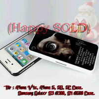 Harry Potter and the deathly hallows dobby On iPhone 4/4S Case, iPhone 5/5S, 5C Case - Samsung Galaxy S3 i9300, S4 i9500 Case.