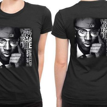 Young Jeezy Trap De Necessary 2 Sided Womens T Shirt