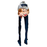NFL Dallas Cowboys Mascot Long Dangle Hat