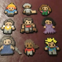 Firefly, Serenity Perler Art Magnets, Hanging Ornaments, or Wall Décor