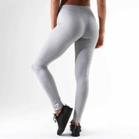 Gymshark Ark Jersey Legging - Light Grey Marl