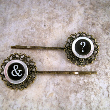 Steampunk Hair Bobby Pins By Metals And Time