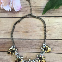 Slow Dance Necklace-Gold