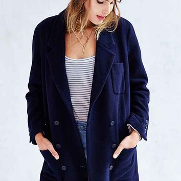 BDG Mid-Thigh Blazer Coat-
