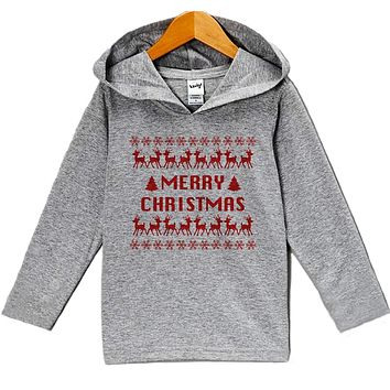 Custom Party Shop Baby's Ugly Sweater Merry Christmas Hoodie