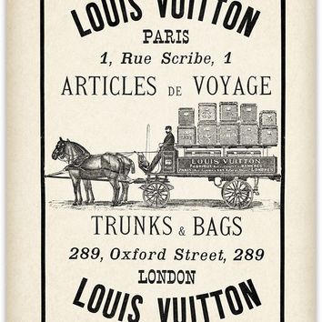Vintage Louis Vuitton Photographic Print