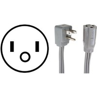 PETRA 90-0306 Appliance Extension Cord (6ft)